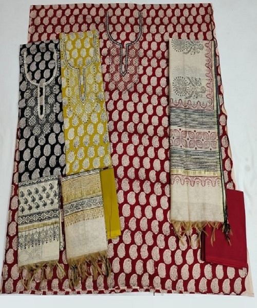 Dabu Print Salwar Suit Suppliers In Chandauli