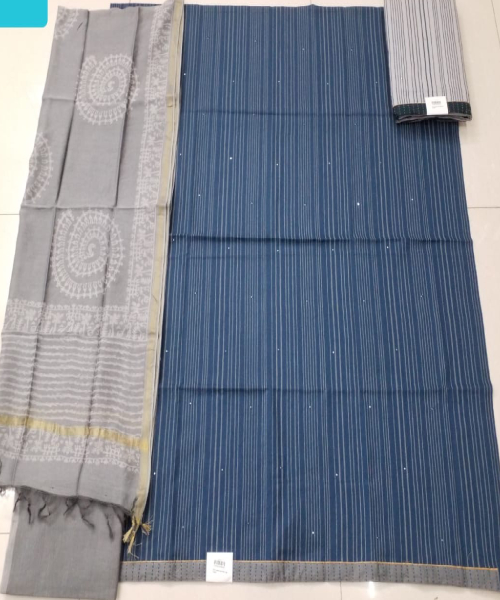 Women Indigo Salwar Suit Suppliers In Tirap